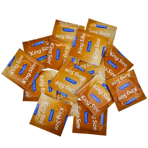 Pasante King Size Condom Saver Bundle - 15 Pack