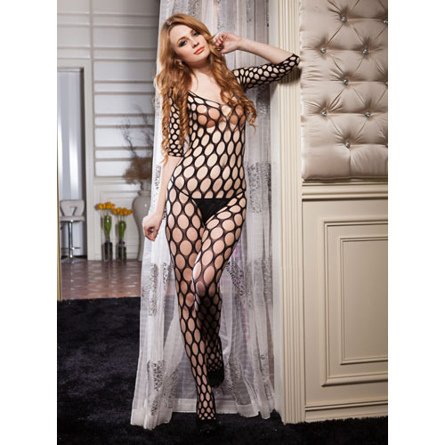 Tempting Crotchless Bodystocking