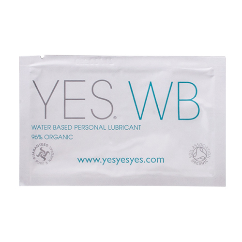 Yes Organic Water-Based Lube - 7ml Travel Sachet