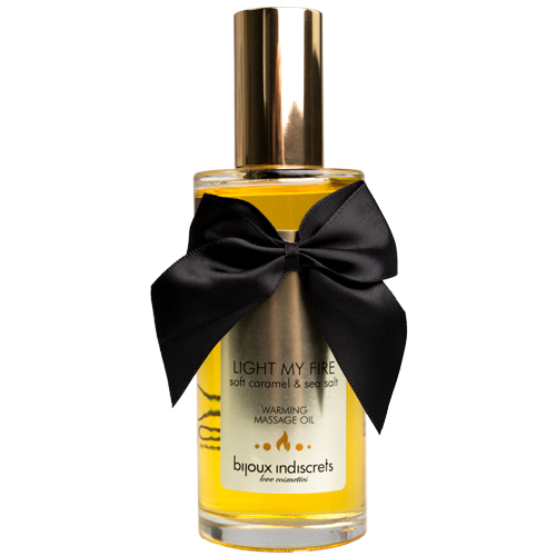 Bijoux Indiscrets Light My Fire Caramel Warming Massage Oil