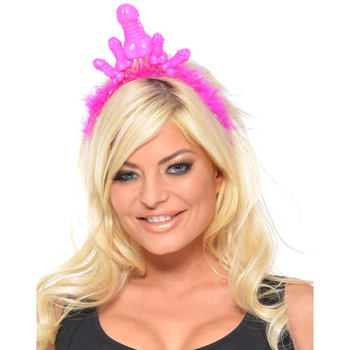 Bachelorette Party Deluxe Pecker Tiara