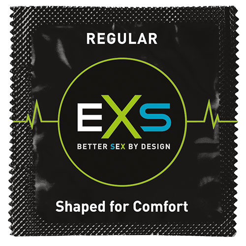 EXS Regular Comfy Fit Condoms - Loose