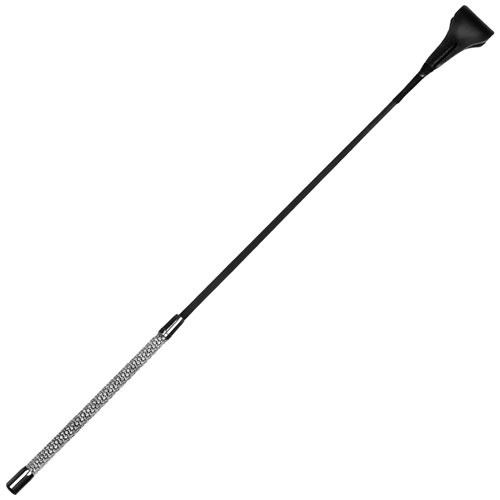"Diamante Encrusted 25.5"" Riding Crop"