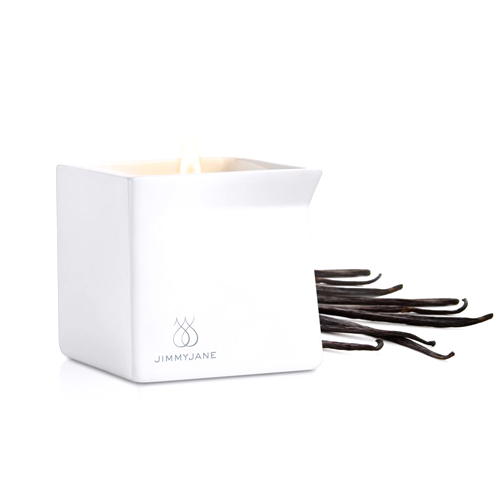 JimmyJane Dark Vanilla Candle