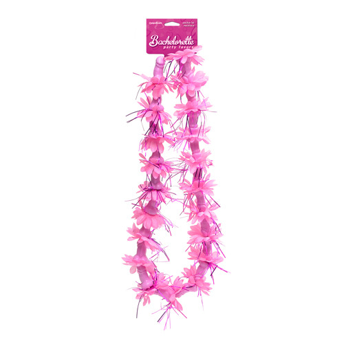 Bachelorette Party Pecker Lei Necklace
