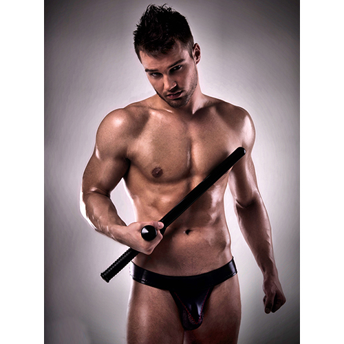 Passion Men's Wet Look and Mesh Jock Strap