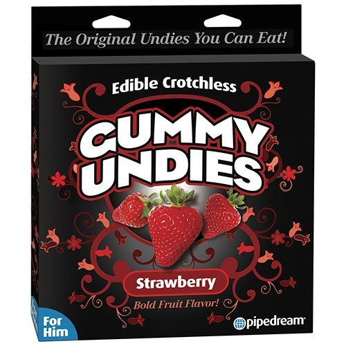 Edible Strawberry Gummy Undies