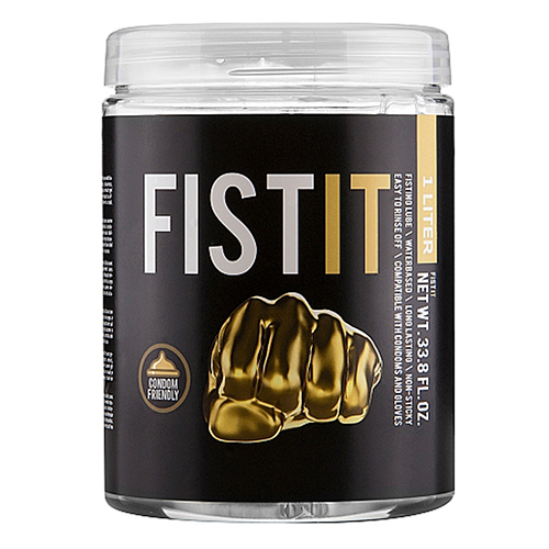 Fist It Water-Based Anal Lubricant - 1000ml