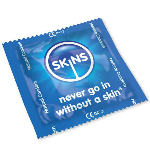 Skins Natural Condoms 500 Bulk Pack (12p each)