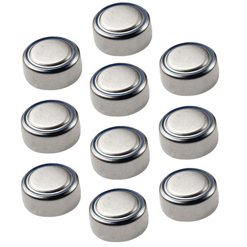 AG13 LR44 Button Cell Batteries Strip of 10