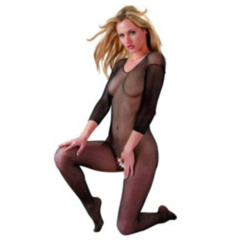 Classic Crotchless Fishnet Bodystocking
