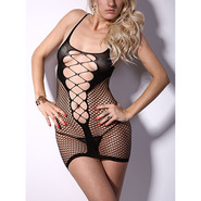 Corset Cut Out Mini Dress