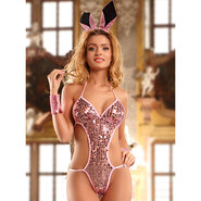 Disco Bunny Baby Pink Three Piece Teddy Set