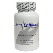 100% Natural SemEnhance Semen Taste Enhancer 60s - 1 Month Supply