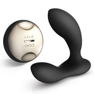 LELO Hugo Black Prostate Massager with Remote