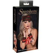 Sportsheets Satin & Lace Lover's Kit