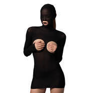 Leg Avenue Kink Opaque Masked Cupless Dress