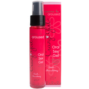 Crazy Girl Wanna Be Aroused Oral Sex Gel-Strawberry