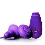 Twice as Nice Silicone Nipple and Clit Vibrator