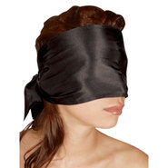 Bad Kitty Satin Tie Up Blindfold