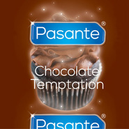 Pasante Chocolate Temptation Condom - Loose