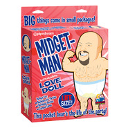 Midget-Man Inflatable Love Doll