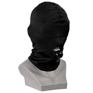 Spandex Hood With Silicone Ball Gag