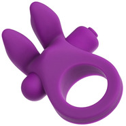 10 Speed Silicone Waterproof Rabbit Cock Ring
