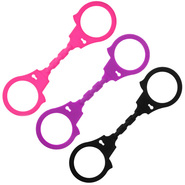 Fun Flexible Silicone Hand Cuffs
