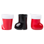 Deck the Halls Christmas Shot Glass Set