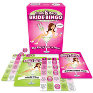 Bride-to-Be Drink & Dare Bingo