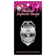 Pecker Inspector Officer Badge