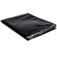 Black Vinyl Double Duvet Cover