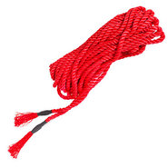 Bondara Red Rope with Tassels - 5m