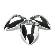 Stainless Steel Teardrop Cock Ring - 3 Sizes