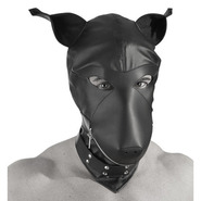 Fetish Bondage Puppy Mask Hood