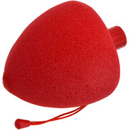 Vibrating Strawberry Sponge Massager - Waterproof