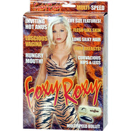 Foxy Roxy Vibrating Blow Up Sex Doll