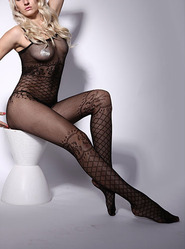 Crotchless Vixen Bodystocking