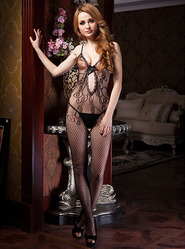 Crotchless Sexy Siren Bodystocking