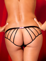 Rene Rofe Cage Back Sequin Panty