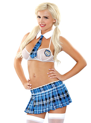 Fantasy Prefect Schoolgirl Costume Set