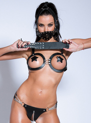 Bondara Chained Open Bra and Panty Set