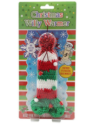 Deck Your Baubles Christmas Willy Warmer