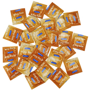 Pasante King Size Condom Saver Bundle - 25 Pack