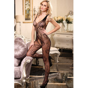 Sensually Seductive Crotchless Bodystocking