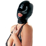 Bad Kitty Wet Look Deprivation Hood