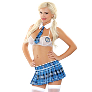 Fantasy Play Prefect Schoolgirl Costume Set