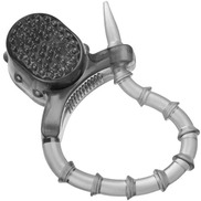 Rattle Snake Adjustable Vibrating Cock Ring