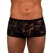 Bondara Seductive Sheer Lace Shorts